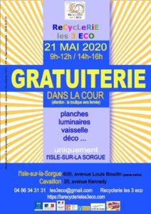 GRATUITERIE @ L'Isle sur la Sorgue